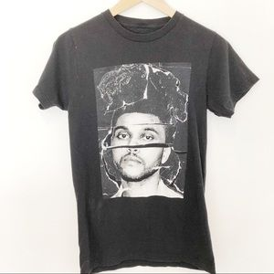 Band Tee The weekend Black Graphic T-Shirt Sz S